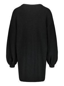 uhana-naisten-neulemekko-flicker-knit-dress-musta-2
