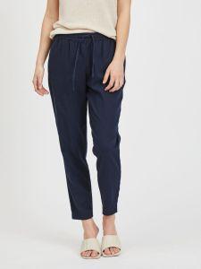vila-naisten-housut-visiliana-7-8-pants-noos-tummansininen-1