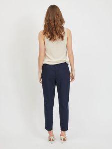 vila-naisten-housut-visiliana-7-8-pants-noos-tummansininen-2
