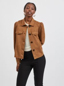 vila-naisten-jakku-vighita-new-short-jacket-kameli-1