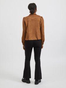 vila-naisten-jakku-vighita-new-short-jacket-kameli-2