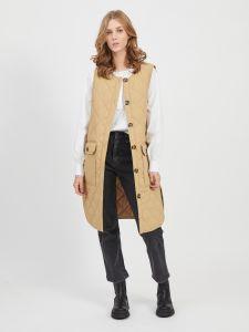 vila-naisten-liivi-cooli-waistcoat-vaalea-beige-1