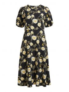 vila-naisten-mekko-rosemary-o-neck-dress-musta-kuosi-1
