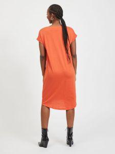 vila-naisten-mekko-vidreamers-ss-knee-dress-oranssi-2