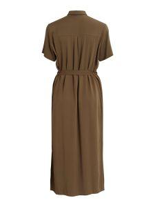vila-naisten-mekko-visuvita-ss-ancle-shirt-dress-armeijanvihrea-2