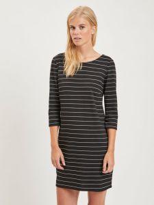 vila-naisten-mekko-vitinny-new-dress-raidallinen-musta-1
