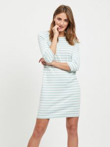 vila-naisten-mekko-vitinny-new-dress-raidallinen-vihrea-1