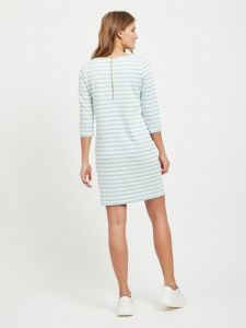vila-naisten-mekko-vitinny-new-dress-raidallinen-vihrea-2