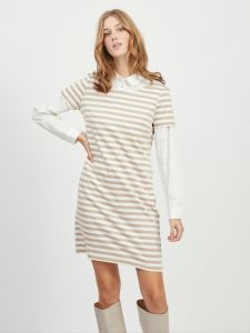 vila-naisten-mekko-vitinny-new-ss-dress-raidallinen-beige-1