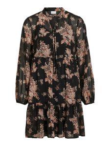 vila-naisten-mekko-vitullan-l-s-flower-dress-musta-kuosi-1