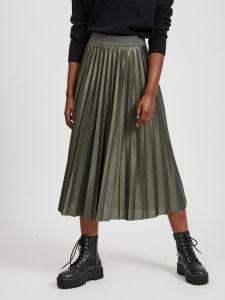 vila-naisten-midihame-vinitban-skirt-tummanvihrea-1
