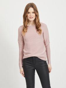 vila-naisten-neule-laine-knit-ls-top-noos-vaaleanpunainen-1