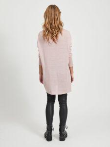 vila-naisten-neule-vifilak-knit-ls-oversize-tunic-vaaleanpunainen-2