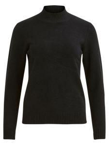 vila-naisten-neule-viril-ls-turtleneck-knit-musta-1