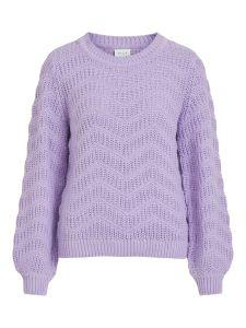 vila-naisten-neule-wisah-ls-o-neck-knit-liila-1