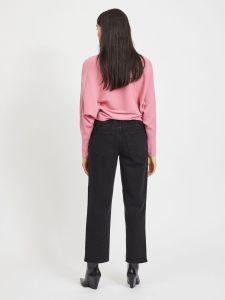 vila-naisten-neulepaita-elasta-knit-vaaleanpunainen-2
