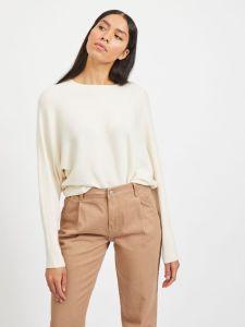 vila-naisten-neulepaita-elasta-knit-valkoinen-1