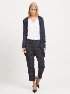 vila-naisten-neuletakki-viril-ls-open-knit-tummansininen-1