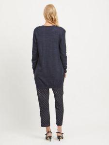 vila-naisten-neuletakki-viril-ls-open-knit-tummansininen-2