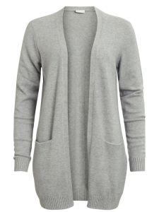 vila-naisten-neuletakki-viril-ls-open-knit-vaaleanharmaa-1