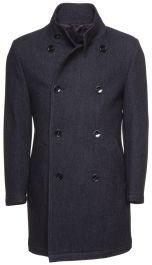 Kaksirivinen takki Tummansininen MIEHET | H&M FI