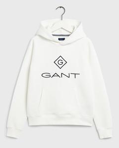 Gant Kids Collegehuppari, Lock Up Sweat Hoodie Valkoinen