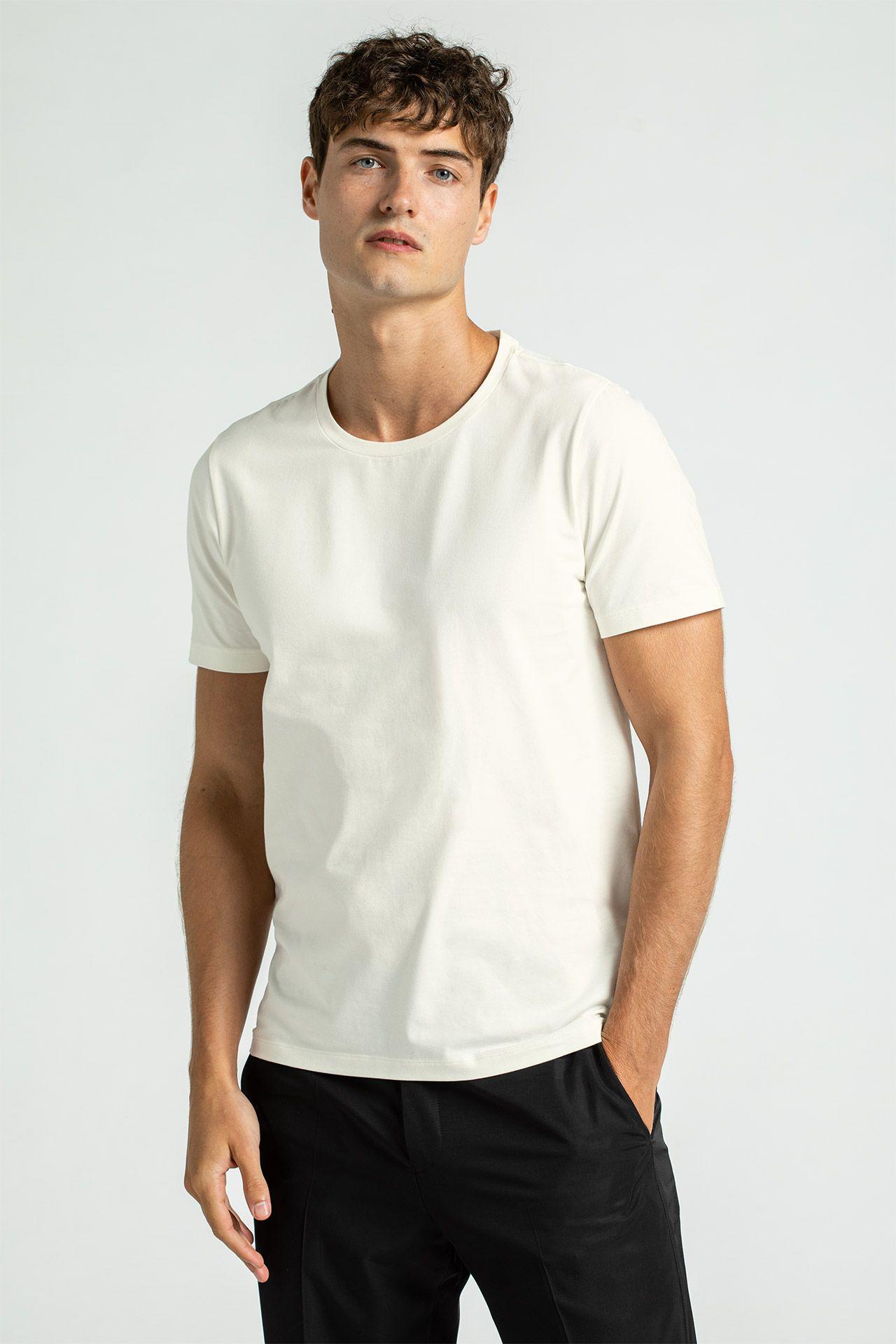Oscar Jacobson Miesten T-paita, Kyran Valkoinen