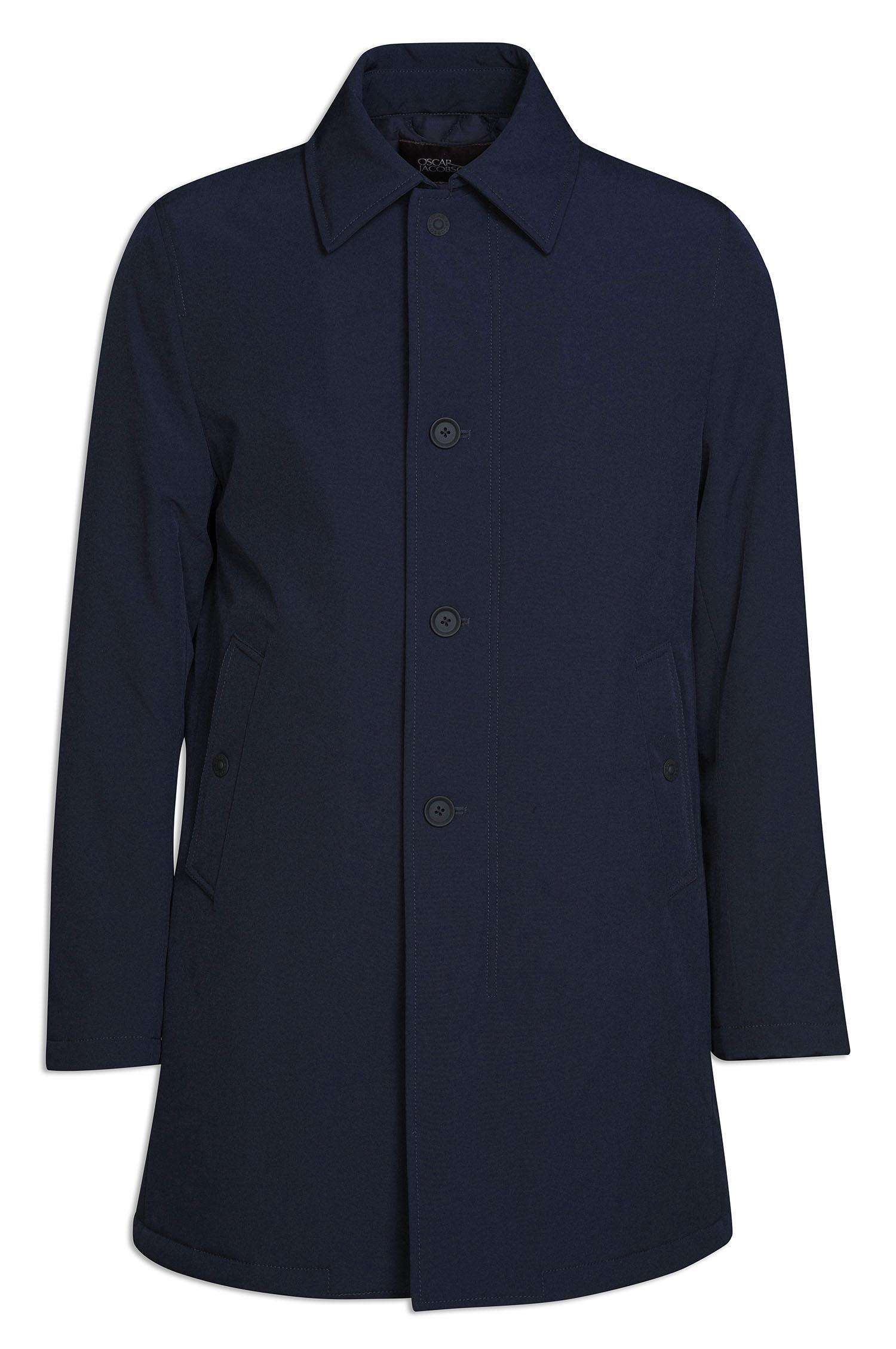 Oscar Jacobson takki, jesper coat Tummansininen