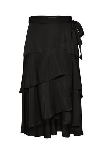 Part Two Naisten Hame, Vloras Skirt Musta