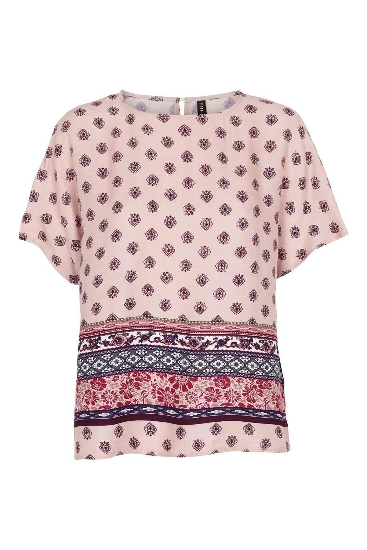 Prepair Naisten Pusero, My Shirt Print Vaaleanpunainen Kuosi