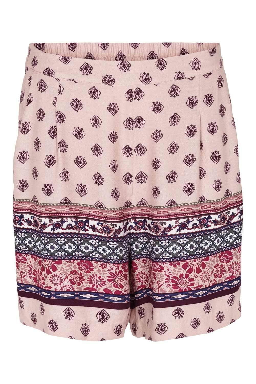 Prepair Naisten Shortsit, My Shorts Print Vaaleanpunainen Kuosi