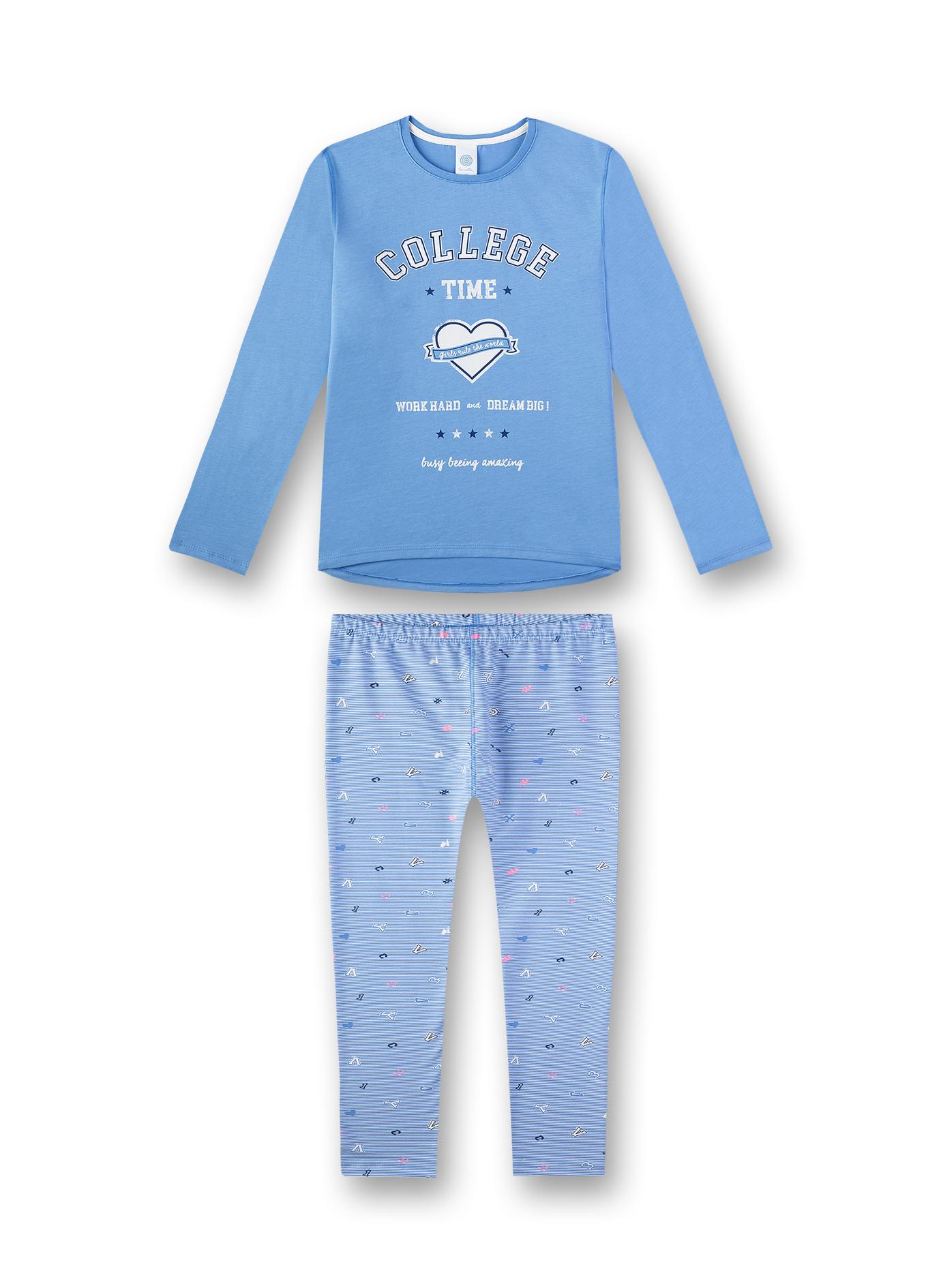 Sanetta Lasten Pyjama Vaaleansininen