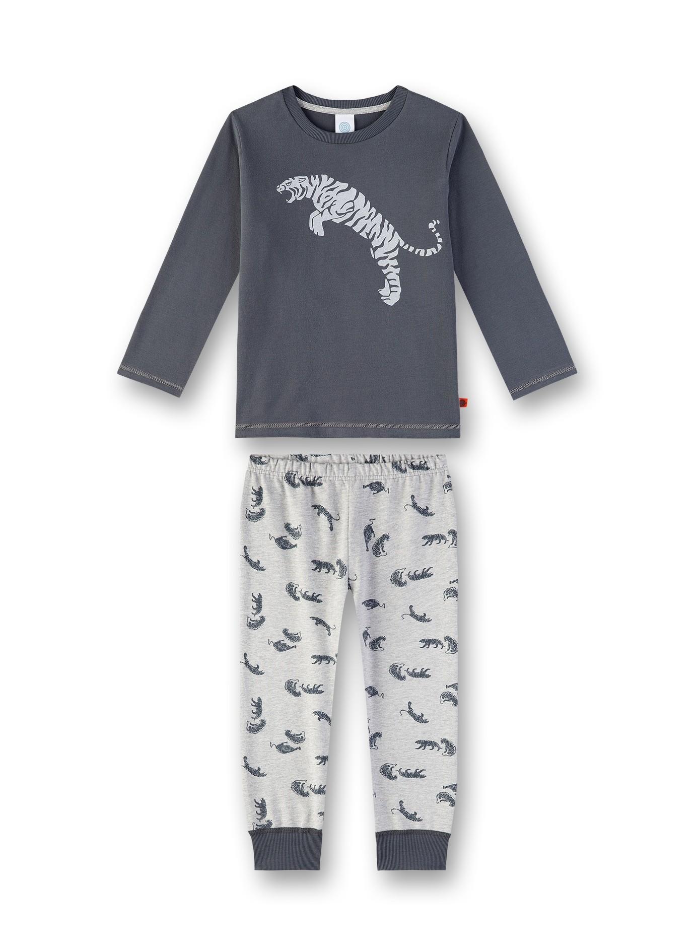 Sanetta Lasten Pyjama Harmaa Kuosi