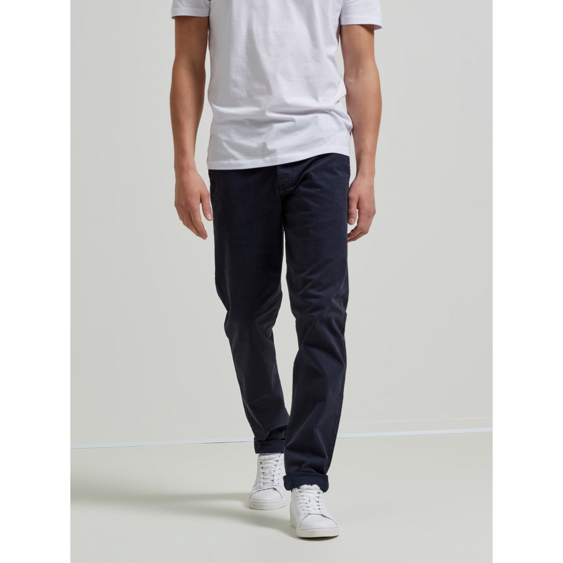Selected Chinoshousut, One Luca Navy Skinny Fit Tummansininen