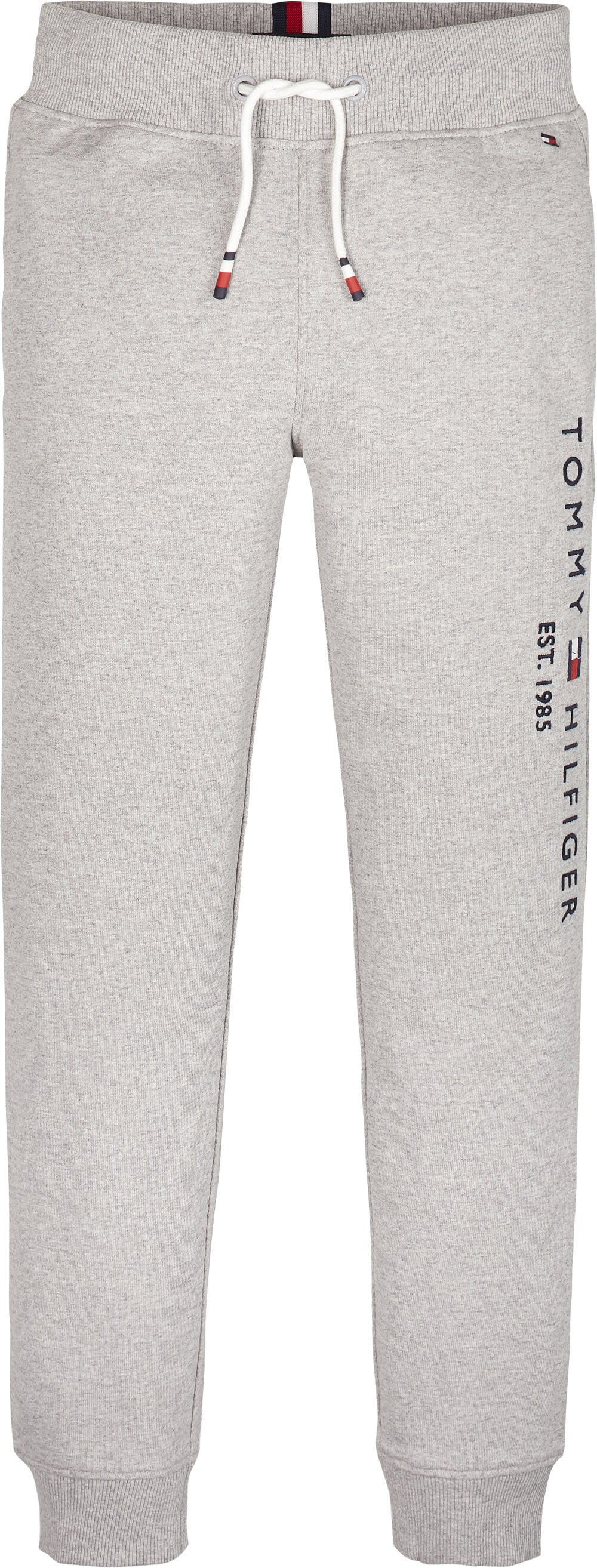 Tommy Hilfiger Childrenswear Collegehousut, Essential Sweatpants Vaaleanharmaa