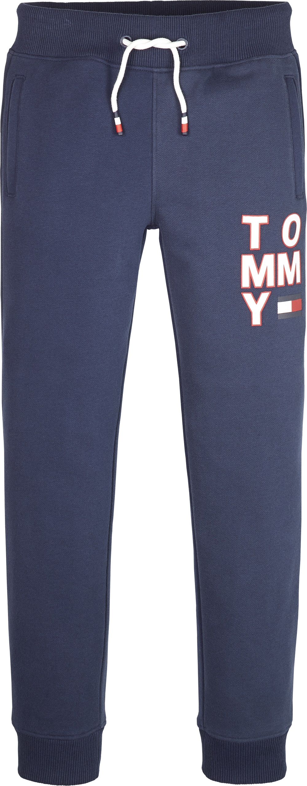 Tommy Hilfiger Childrenswear Collegehousut, Graphic Sweatpants Tummansininen