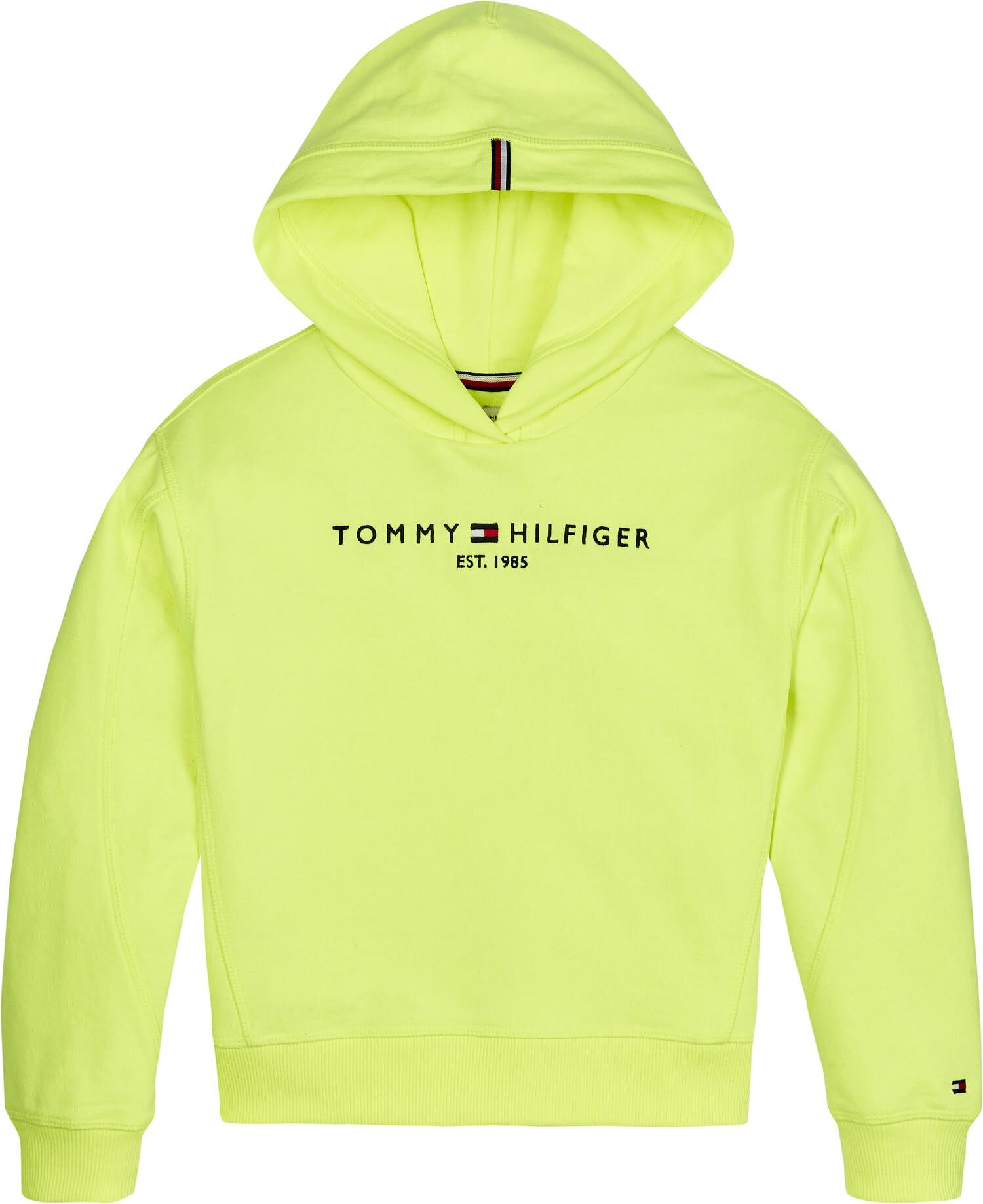 Tommy Hilfiger Childrenswear Collegehuppari, Essential Hooded Sweatshirt Keltainen