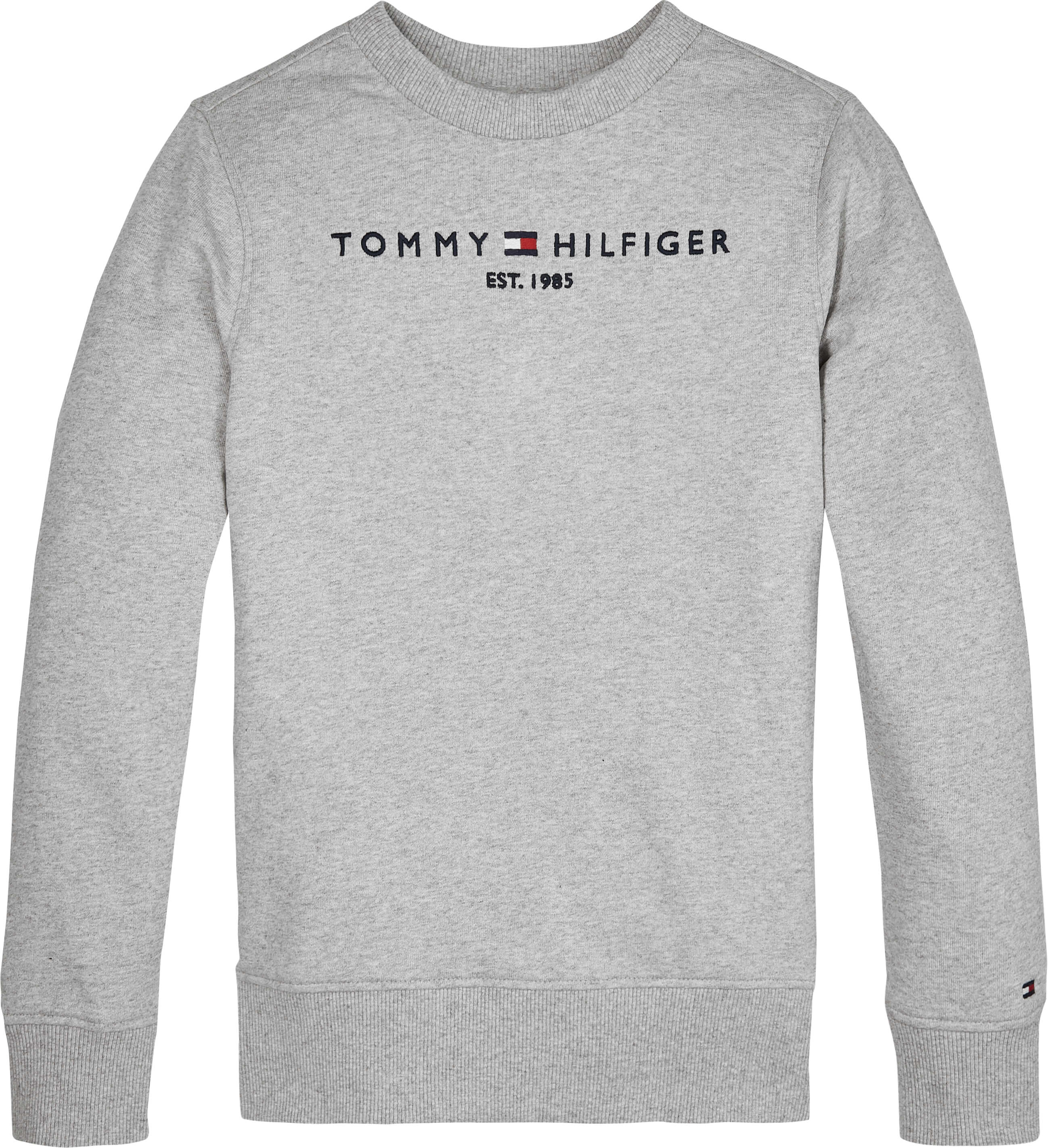 Tommy Hilfiger Childrenswear Collegepusero, Essential Cn Sweat Vaaleanharmaa