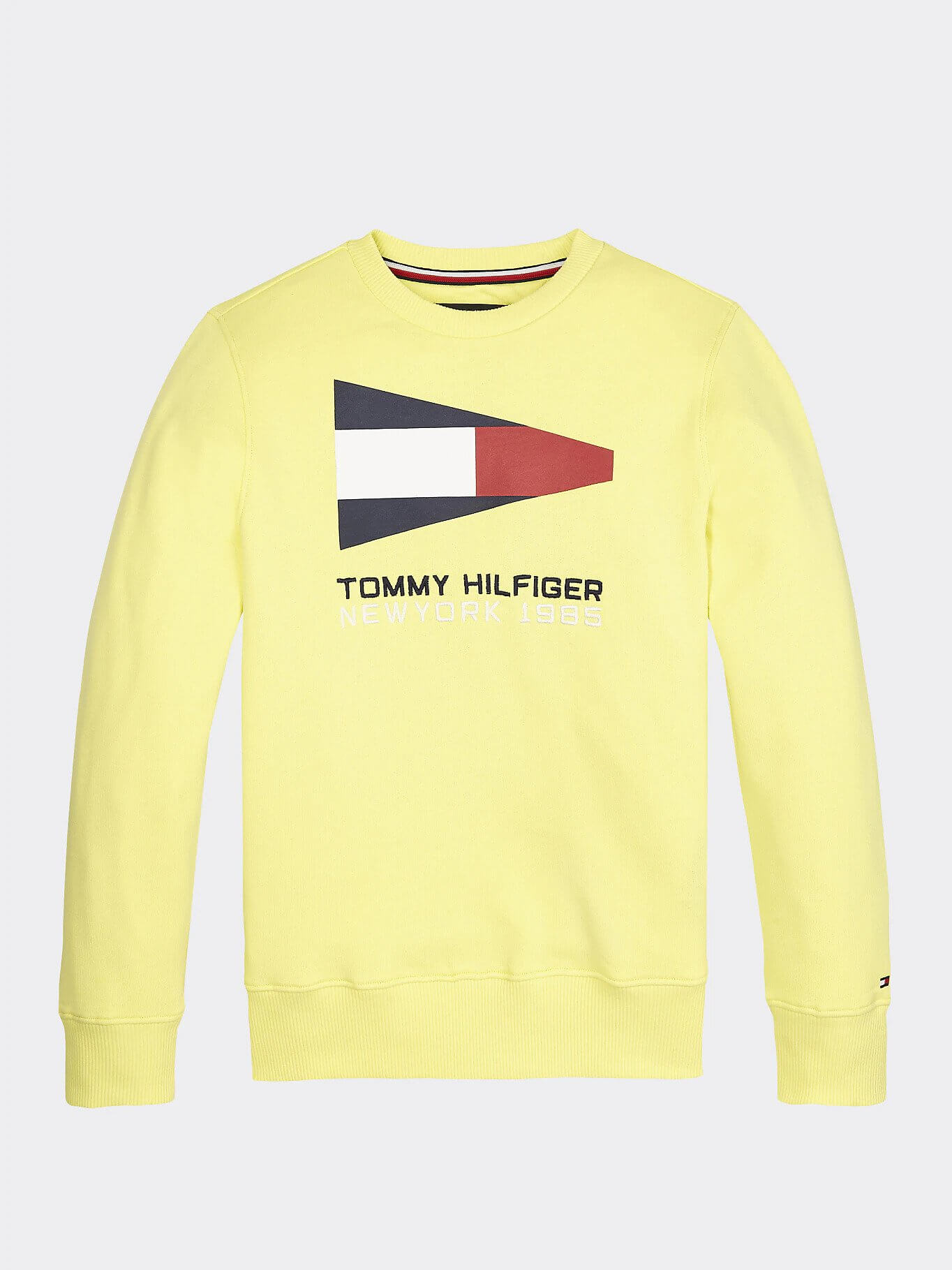 Tommy Hilfiger Childrenswear Collegepusero, SAILING FLAG GRAPHIC SWEATSHIRT Keltainen