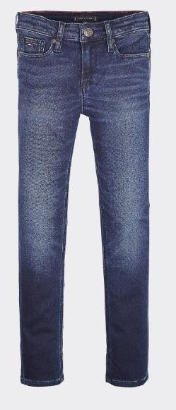 Tommy Hilfiger Childrenswear Farkut, Scanton SLim Tummansininen