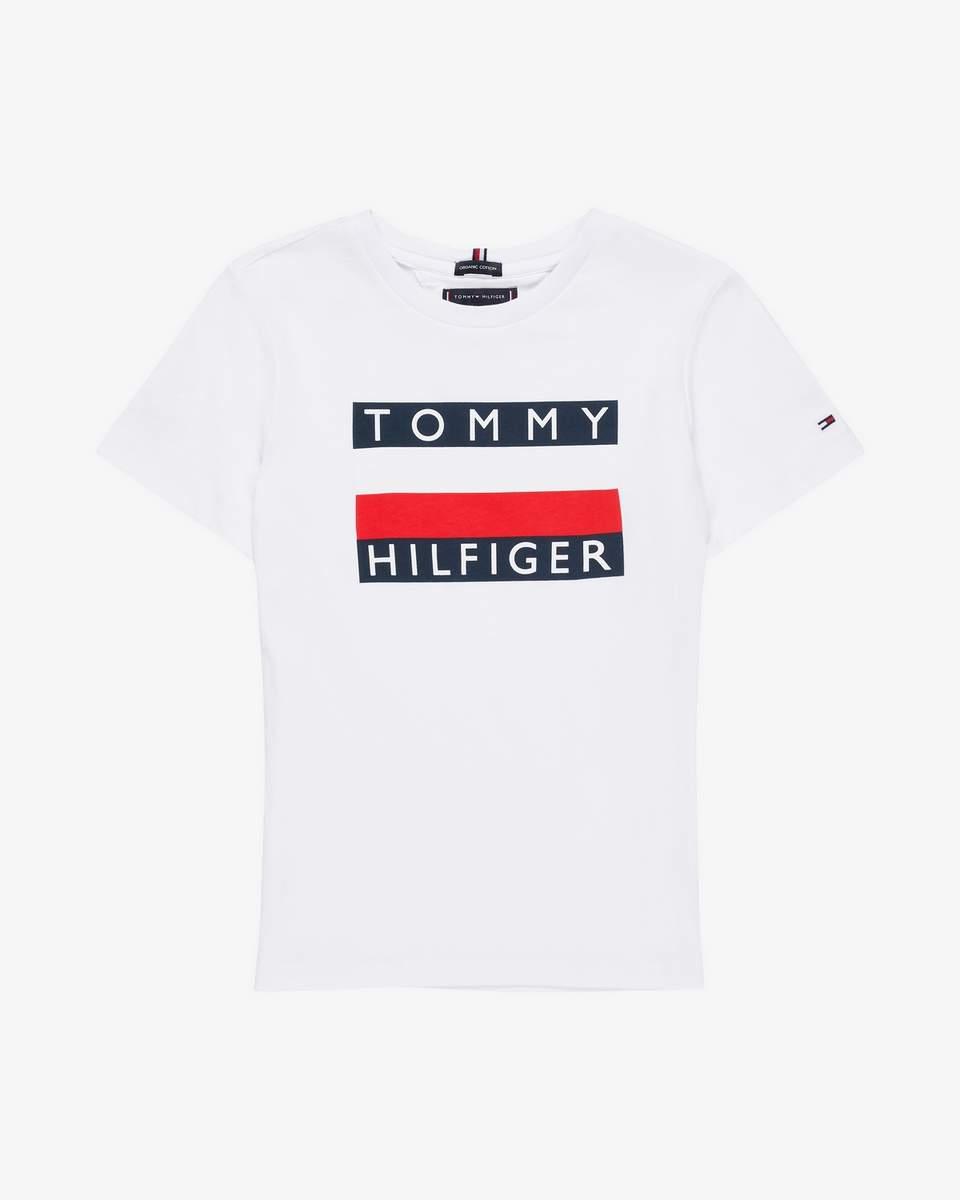 Tommy Hilfiger Childrenswear T-paita, Essential Hilfiger Tee Ss Valkoinen