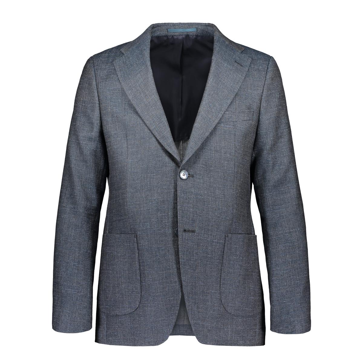 Turo Tailor Miesten Bleiseri, Casual Jacket Modern Fit Sininen Kuosi