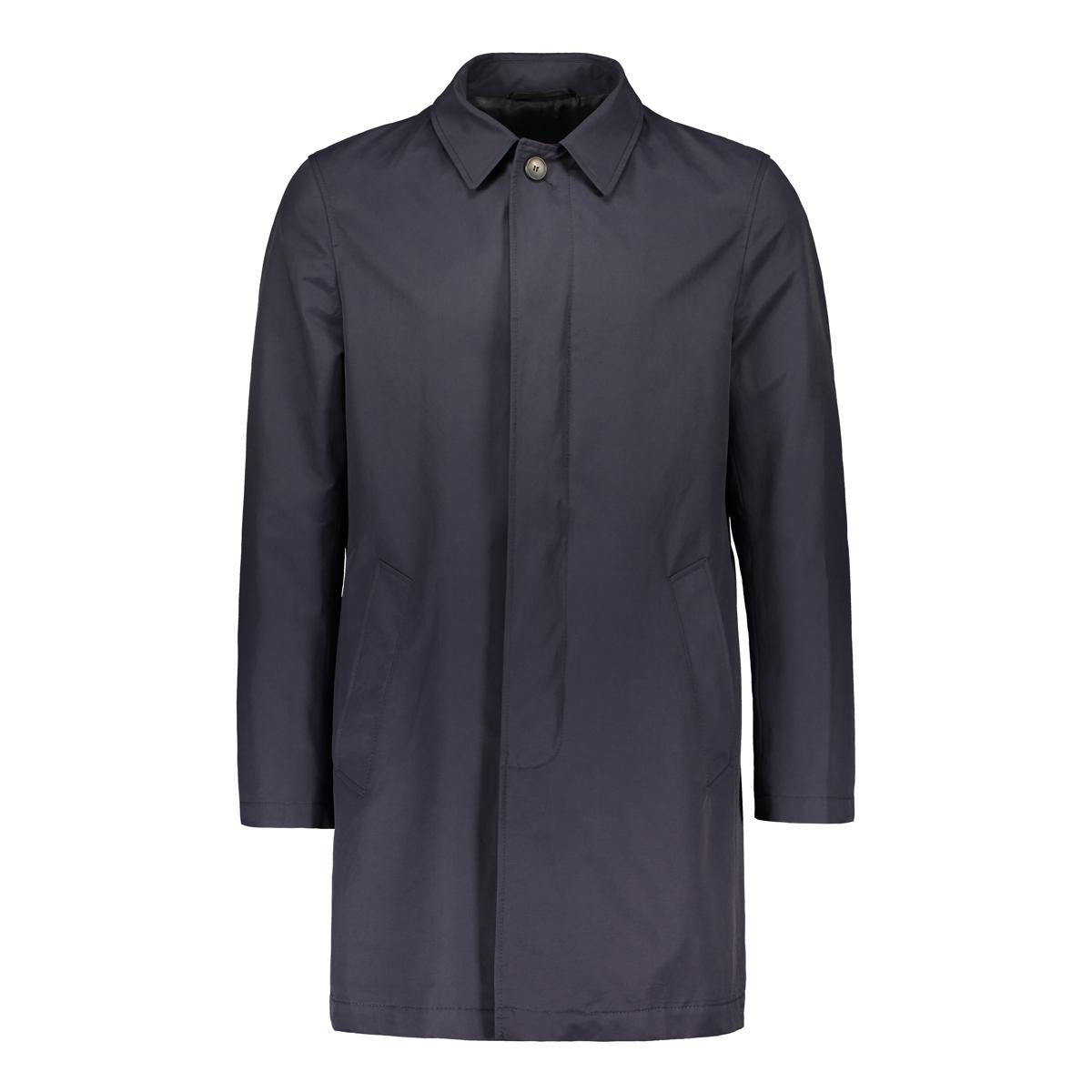Turo Tailor Miesten Välikausitakki, Cotton Spring Coat Tummansininen