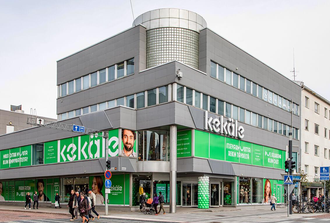 Vaatekauppa Oulu